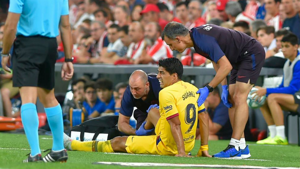 स्वारेजको चोटले बार्सिलोनालाई तनाव : कहिलेसम्म मैदानबाहिर ?