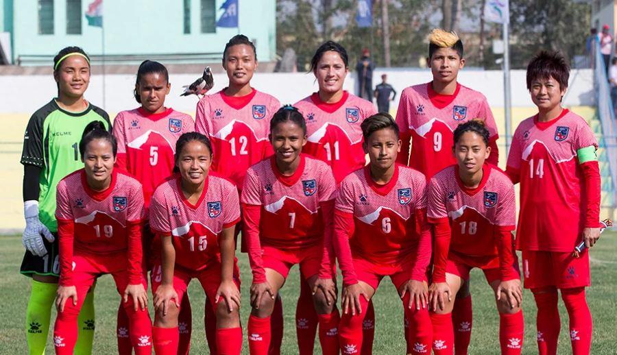 दोस्रो खेलमा नेपाली महिला टोली उज्बेकिस्तानसँग पराजित