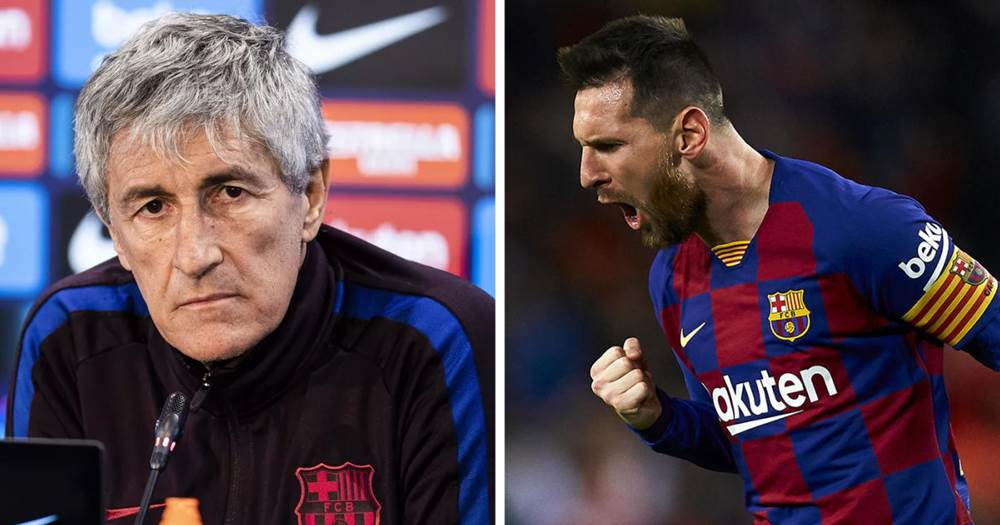 बार्सिलोनाका प्रशिक्षकले खेलाडीलाई भने– 'अवे मैदानमा नडराई खेल्नू'