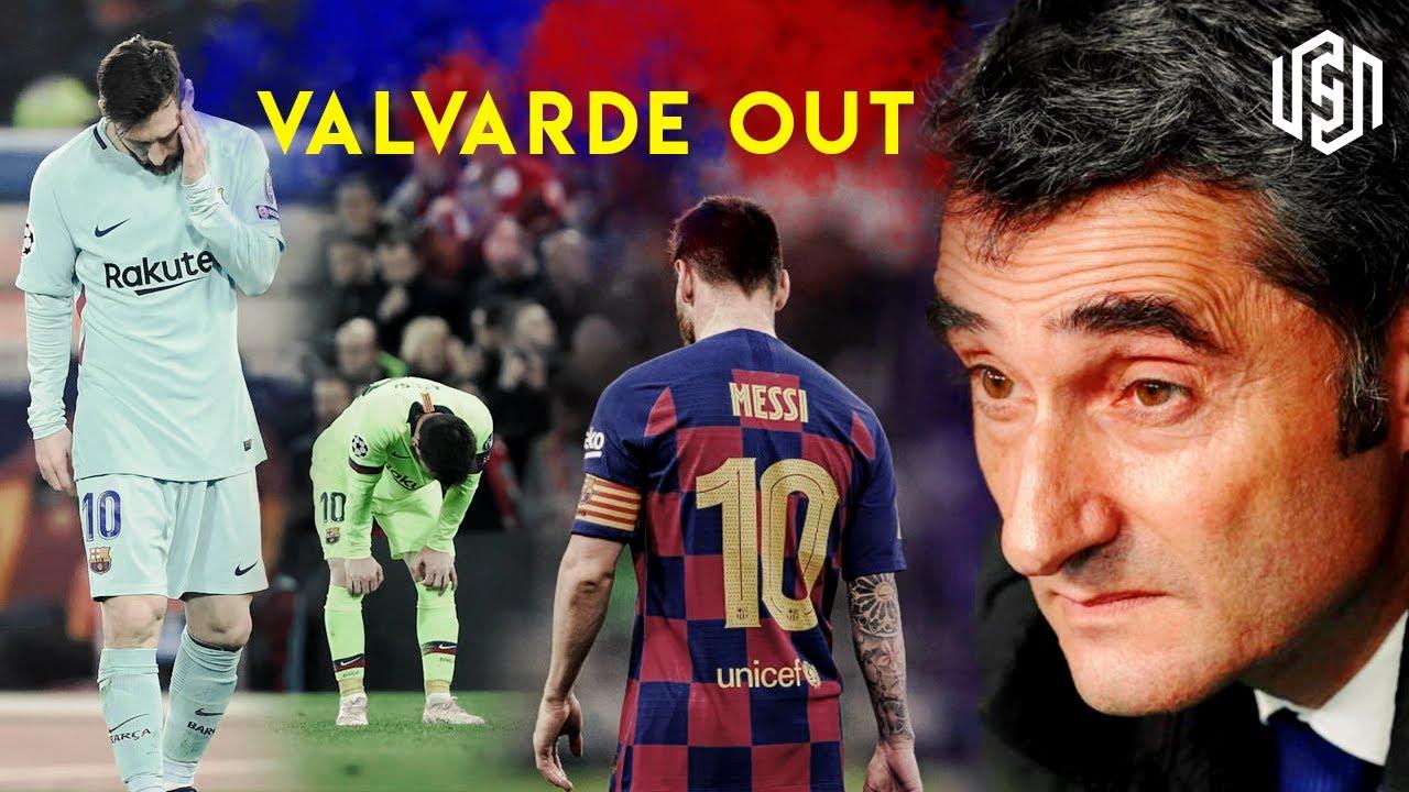 बार्सिलोनाद्वारा भाल्भर्डे बर्खास्त : सेटिन बने नयाँ प्रशिक्षक
