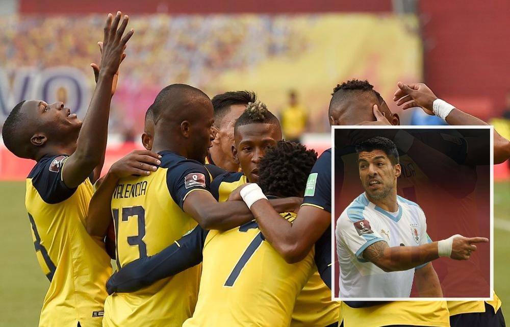 विश्वकप छनौट : ६४औं स्थानको इक्वेडरसँग उरुग्वेको 'नमिठो' हार !