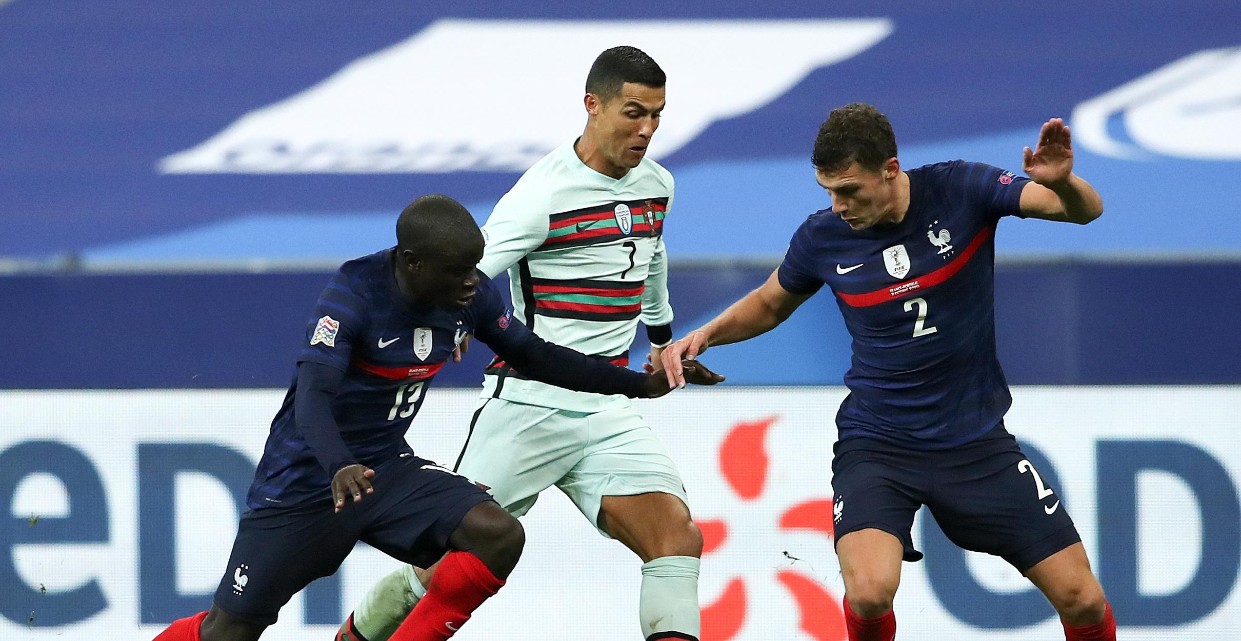 बहुप्रतीक्षित खेलमा फ्रान्स र पोर्चुगलको बराबरी