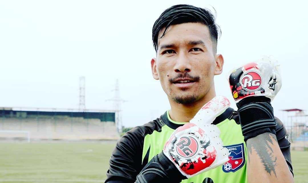 नेपाली गोलकिपर किरण आईलिगको बेस्ट गोलकिपर घोषित