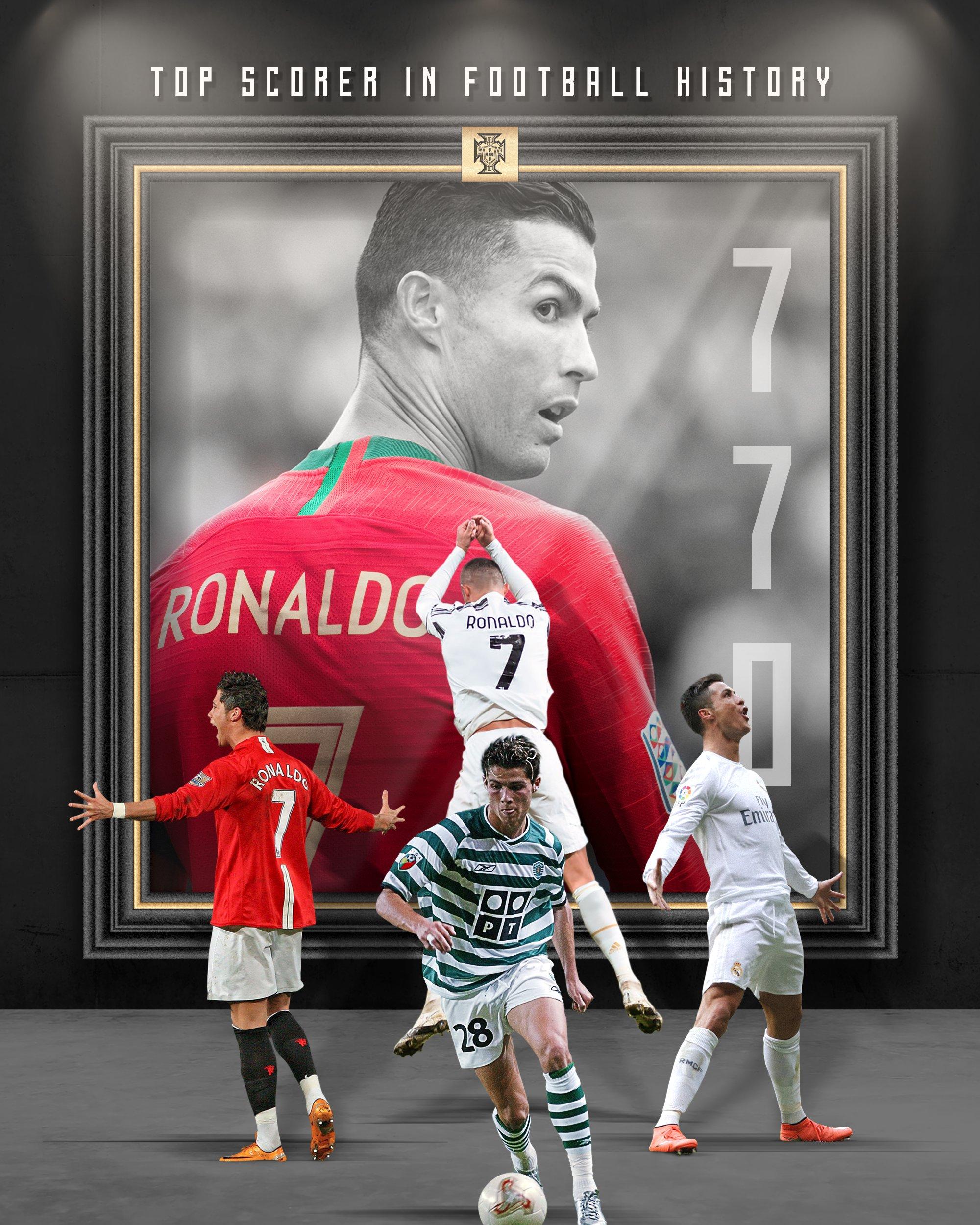 रोनाल्डो अब इतिहासकै 'सर्वाधिक गोलकर्ता' खेलाडी : सन्यास लिँदासम्म कति गोल गर्लान् ?