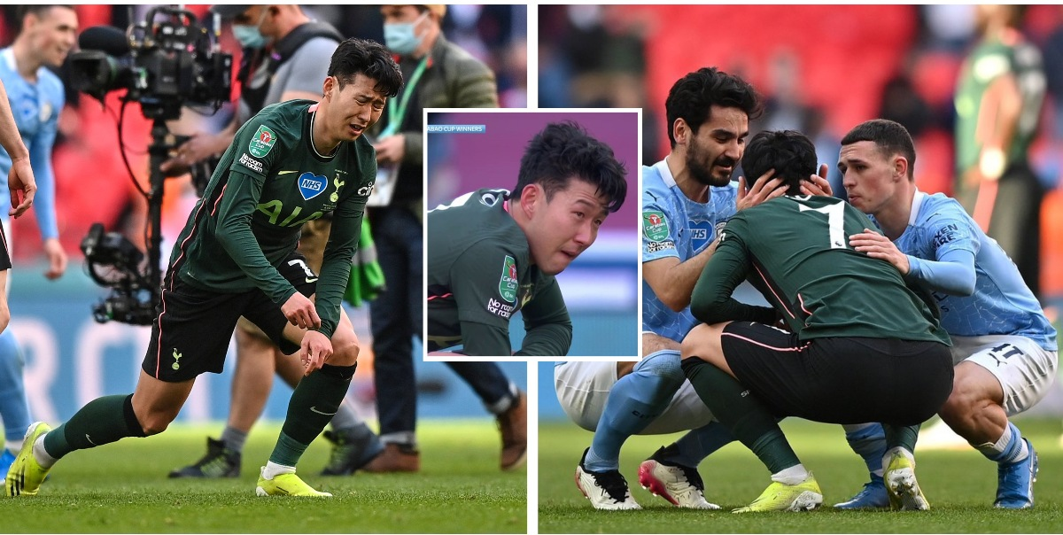 फाइनल हारेपछि मैदानमै रोए सन ……… (तस्बिर र भिडियो)